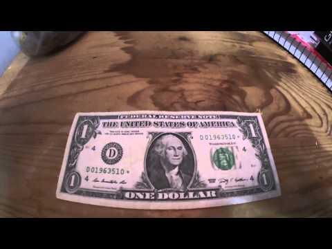 Billete de un dolar con una ESTRELLA y FECHA de nacimiento y Cuantos buhos hay?