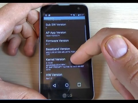 How to enter in HIDDEN MENU on LG K4