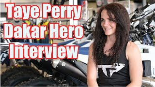 Dakar Rally Hero Taye Perry Interview