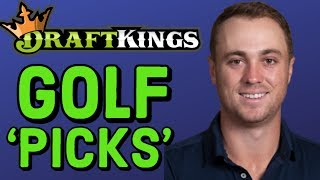 DRAFTKINGS GOLF PICKS  TRAVELERS CHAMPIONSHIP PICKS | GOLF DFS PICKS / Видео