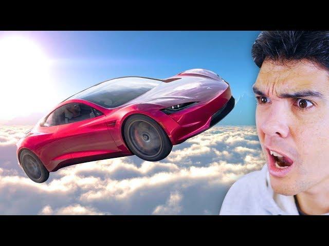 ESTE TESLA FLOTARÁ EN EL AIRE!!! Tecnología espacial de locos