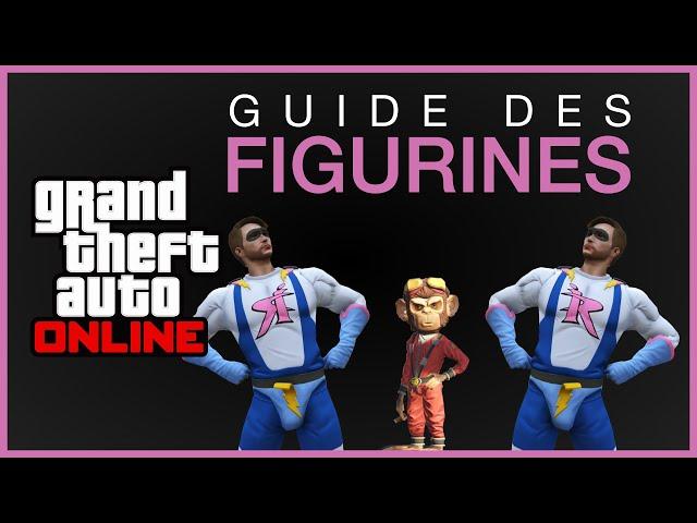 [GUIDE] Emplacements des 100 figurines - GTA Online