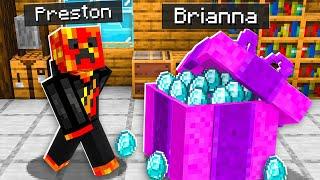 7 Ways to Gift PrestonPlayz Diamonds! - Minecraft