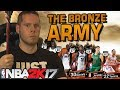 THE BRONZE ARMY! DON'T SLEEP ON THESE MEN! NBA 2K17