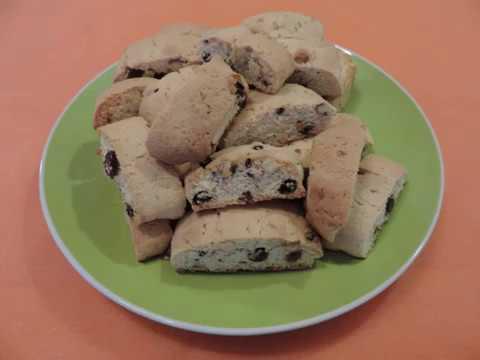 ПЕЧЕНЬЕ  БИСКОТТИ или КАНТУЧЧИ  Итальянское  Печенье. Простой рецепт.