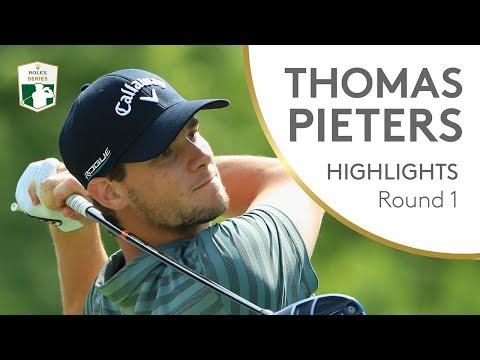 Thomas Pieters Highlights   Round 1   2018 Italian Open