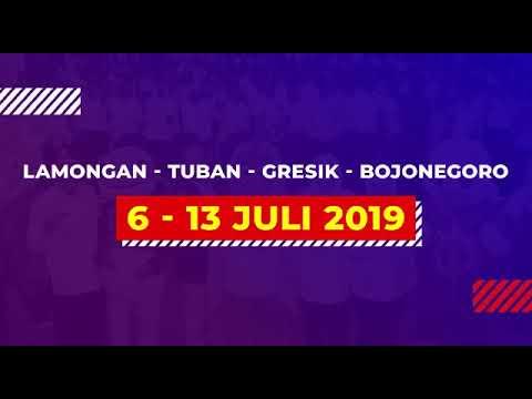 Saksikan opening ceremony PORPROV2019 Lamongan