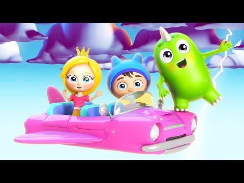 Песенка для детей про молнию с героями мультика Сина и Ло