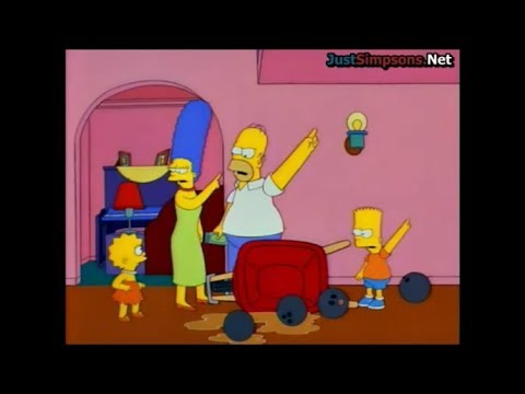 the simpsons go to your room lisa youtube. Black Bedroom Furniture Sets. Home Design Ideas