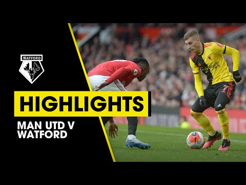 HIGHLIGHTS | MAN UTD 3-0 WATFORD