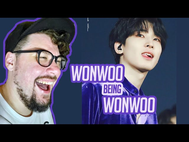 Mikey Reacts to Wonwoo being Wonwoo | SEVENTEEN