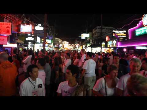 Patong Beach Nightlife – Bangla Road – Phuket Thailand