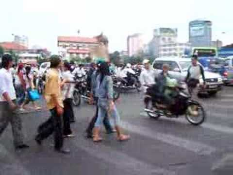 Giao thong o Cho Ben Thanh
