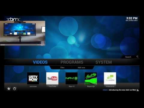 Apple TV 3 & XBMC replace Cable Box (W/ mavericks & Airplay)