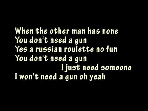 Billy Idol - Don't Need a Gun (Single Edit) karaoke