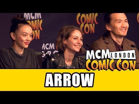 Arrow MCM London Comic Con Panel - Willa Holland, Rila Fukushima & Karl Yune