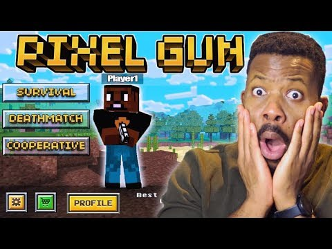 SO 5 YEARS AGO LOOKED LIKE THIS! L Pixel Gun 3D