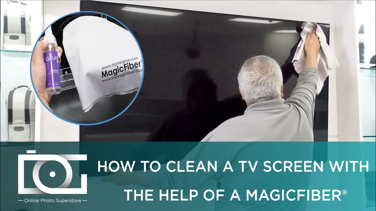 How to Clean an LED, LCD or Plasma TV Screen w Best