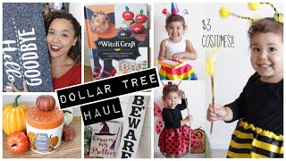 DOLLAR TREE HAUL September 2018 Fall and Halloween
