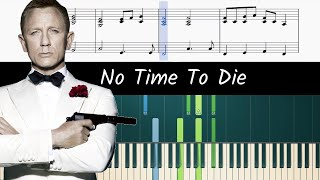 How to play piano part of No Time To Die (007 Theme) by Billie Eilish