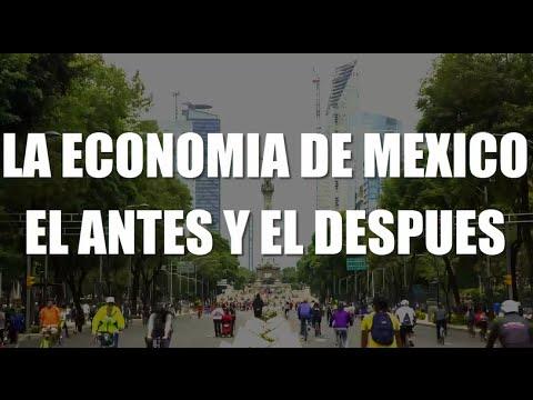 LA ECONOMIA DE MEXICO (EL ANTES Y EL DESPUES)