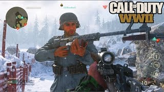 CALL OF DUTY WW2 GAMEPLAY w/ NADESHOT! (COD WW2 MULTIPLAYER GAMEPLAY)