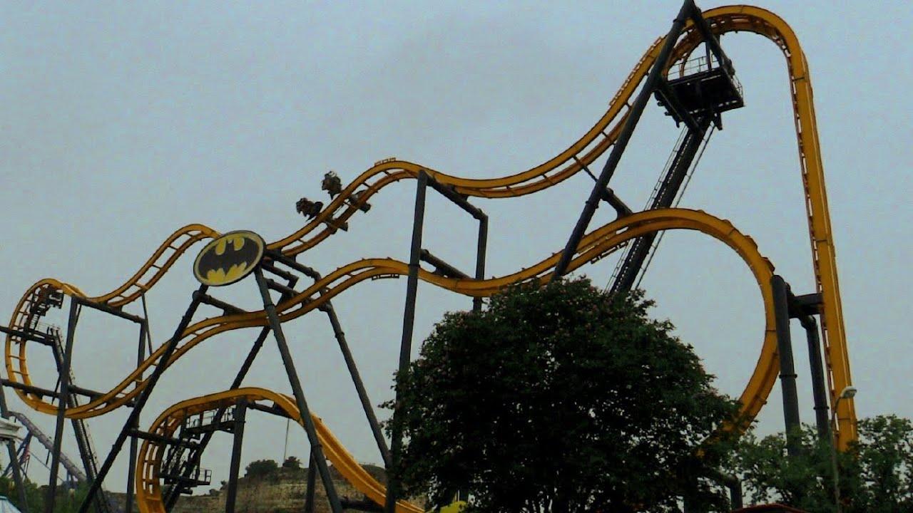 Six Flags Fiesta Texas attendees stuck on Batman: The Ride ...