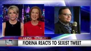 Carly Fiorina blasts sexist tweet