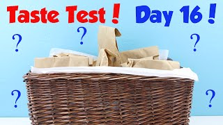January Taste Test Challenge - Day 16 Hint - Tasting Chewy Balls