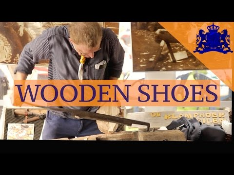 Wooden Shoes • The Dutch Clog Museum • Eelde • The NETHERLANDS