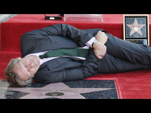 Hugh Laurie - Walk of Fame  Ceremony