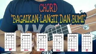 Download Lagu BAGAIKAN LANGIT DAN BUMI - VIA VALLEN   TUTORIAL CHORD UKULELE MUDAH!! mp3