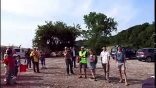 Besuch des Atomklos in Bure/Lothringen 07.06.2015