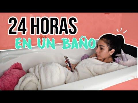 24 HORAS EN MI BAÑO!! ME DORMI EN LA TINA !!!