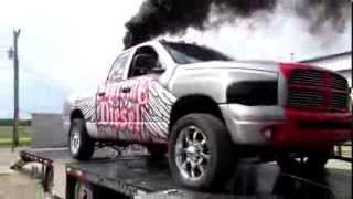 ashley justin race truck dyno