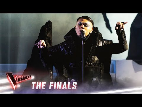 The Finals: Sheldon Riley sings 'The Show Must Go On' | The Voice Australia 2019