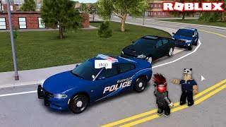Traffic Police And Write Penalties!! - Roblox Liberty County with Panda