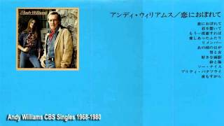 andy williams-23 CBS singles 1967-18-1980