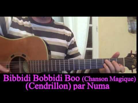 Guitar cover Bibbidi Bobbidi Boo The magic song  (Cinderella) (Chanson Magique)