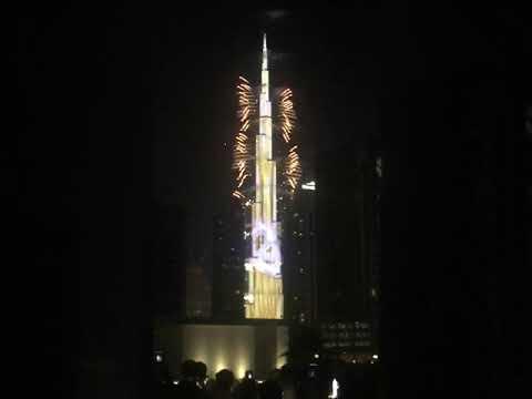 Burj Khalifa # New year celebration 2020 # Dubai
