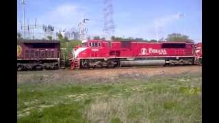 CP 8556 Leads Freight w/ INRD sd90 & CP sd60
