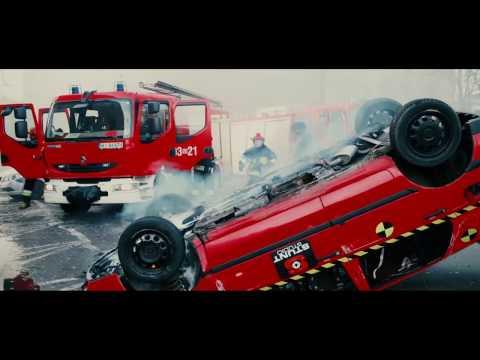 Dachowanie Golfem W Warszawie - Car Rollover - Stunt Studio - Kaskaderzy Filmowi