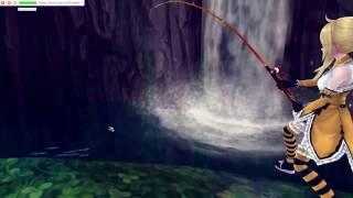 How to build Aura Kingdom fishing bot to catch only orange fish (White Catfish) using Macro recorder