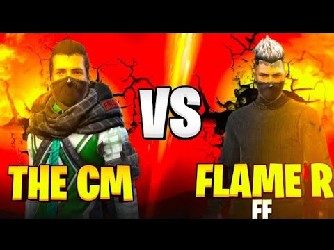 Download THE CM VS FLAME R FF | BEST GAMEPLAY FLAME R FREE FIRE | GARENA FREE FIRE