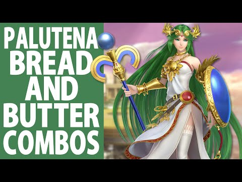 Palutena Bread And Butter Combos (Beginner To Pro)