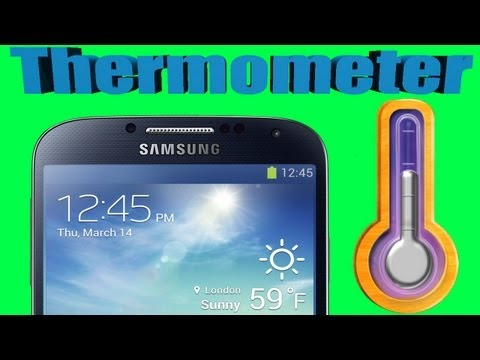 How to Check The Temperature with Your Phone - Temperature