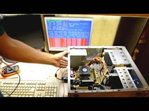 Компьютер запускается, появляется черный экран и на этом все.Правильная диагностика  неисправности