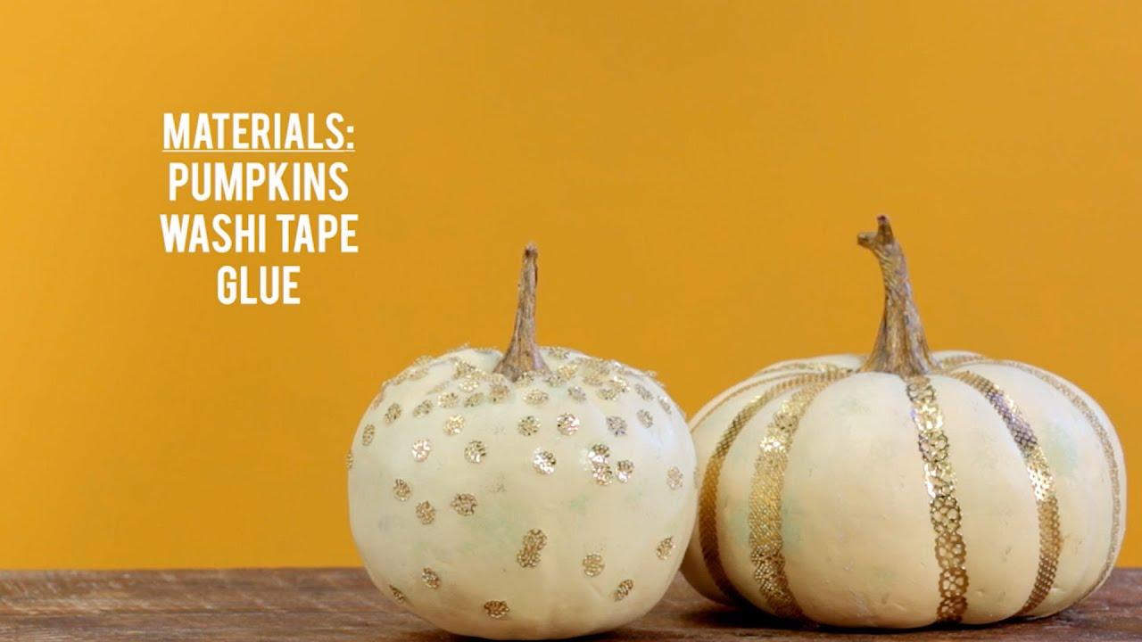 no carve pumpkin decorating fall decoration - Pumpkin Decoration