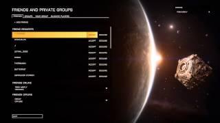 Elite: Dangerous 1.03 - Friend Requests... WHO ARE YOU??? (PC) 1080P HD