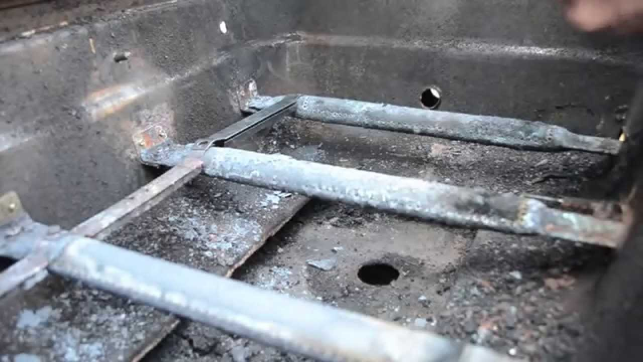 Gas Grill Repair Replace The Carryover Tube Youtube